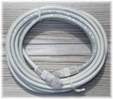 PATCH CABLE CAT5 UTP  1,0M GRÅ TWISTED PAIR