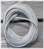 PATCH CABLE CAT5 UTP  3,0M GRÅ TWISTED PAIR